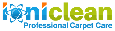 ioniclean logo carpet cleaning