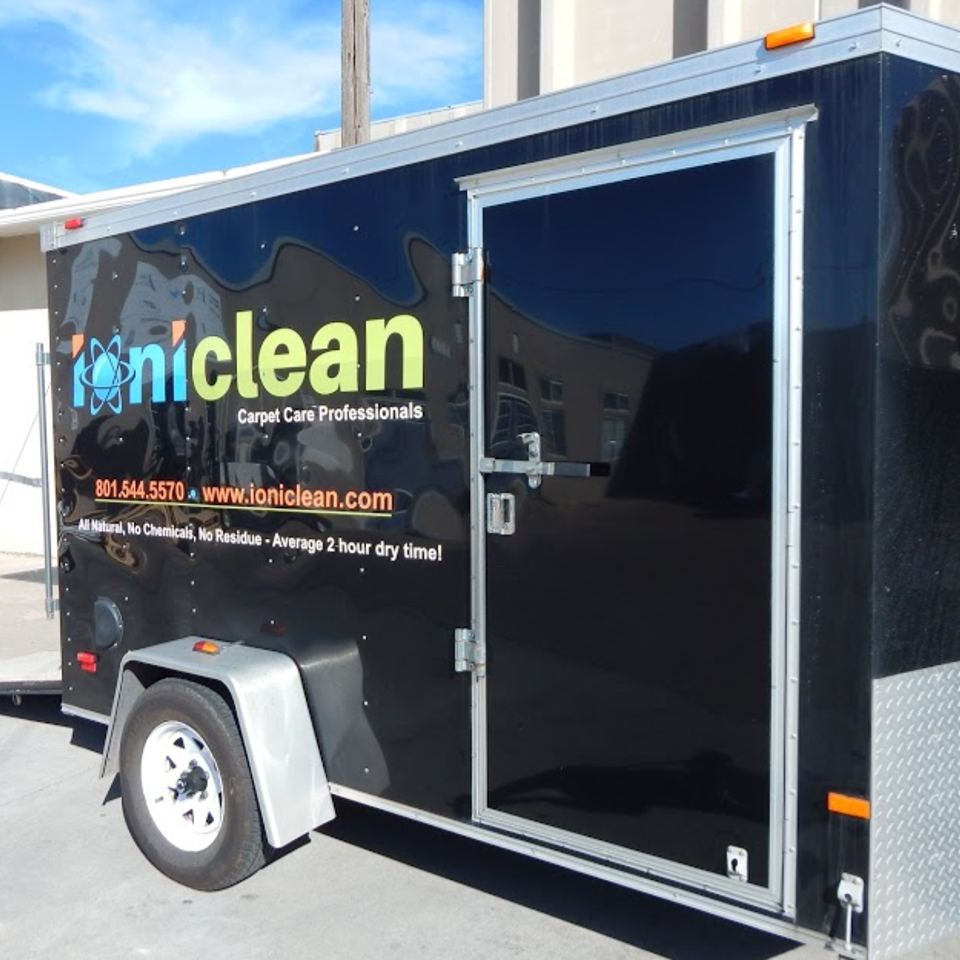 Carpet Cleaning Trailer Ioniclean Clean Pro